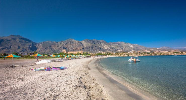Fragokastello beach Chania